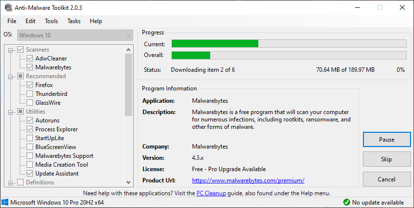 Anti Malware Toolkit Portable Lunarsoft